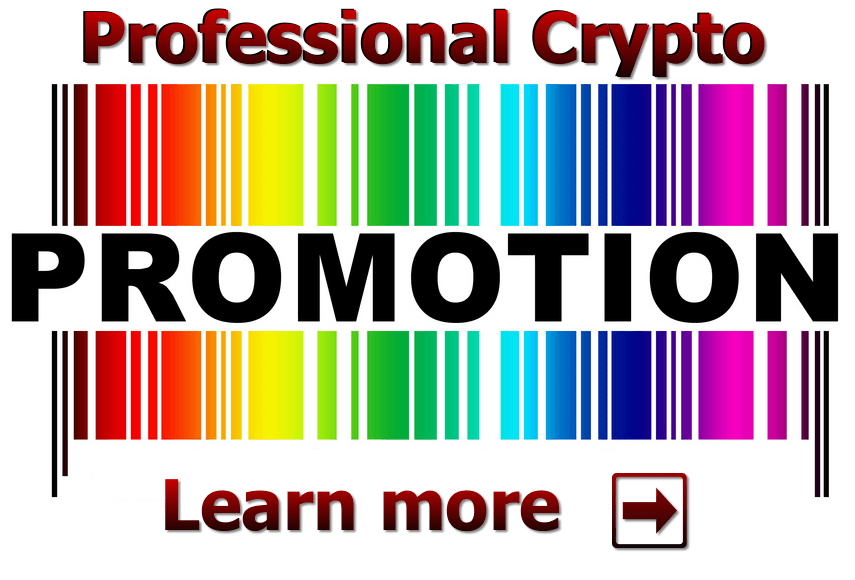 Start your Professional Crypto Promotion now!